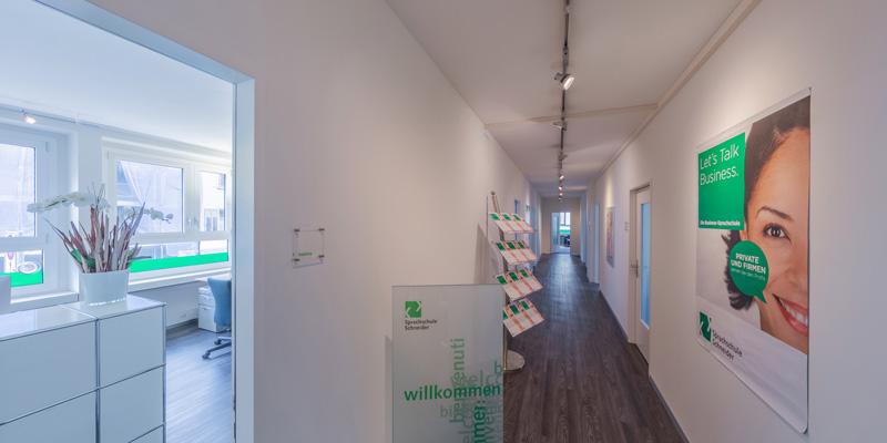 Unterrichtsräume der Sprachschule Schneider in Zürich