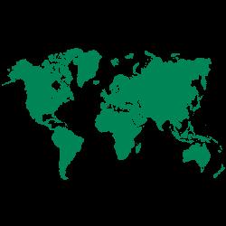 Weltkarte Icon