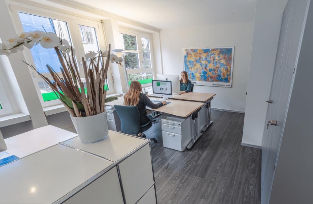 Räume der Sprachschule Schneider