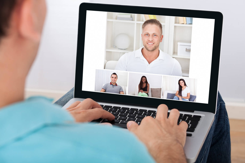 Deutsch Online Gruppen per Videochat