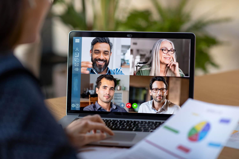Firmen Gruppentraining online via Videokonferenz