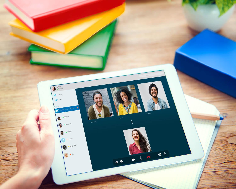 Italienisch Online Gruppen per Videochat